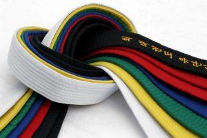 TKD belts